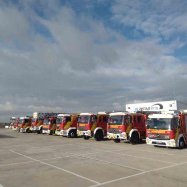 BOMBEROS: Formación específica de conducción en emergencias y todo terreno